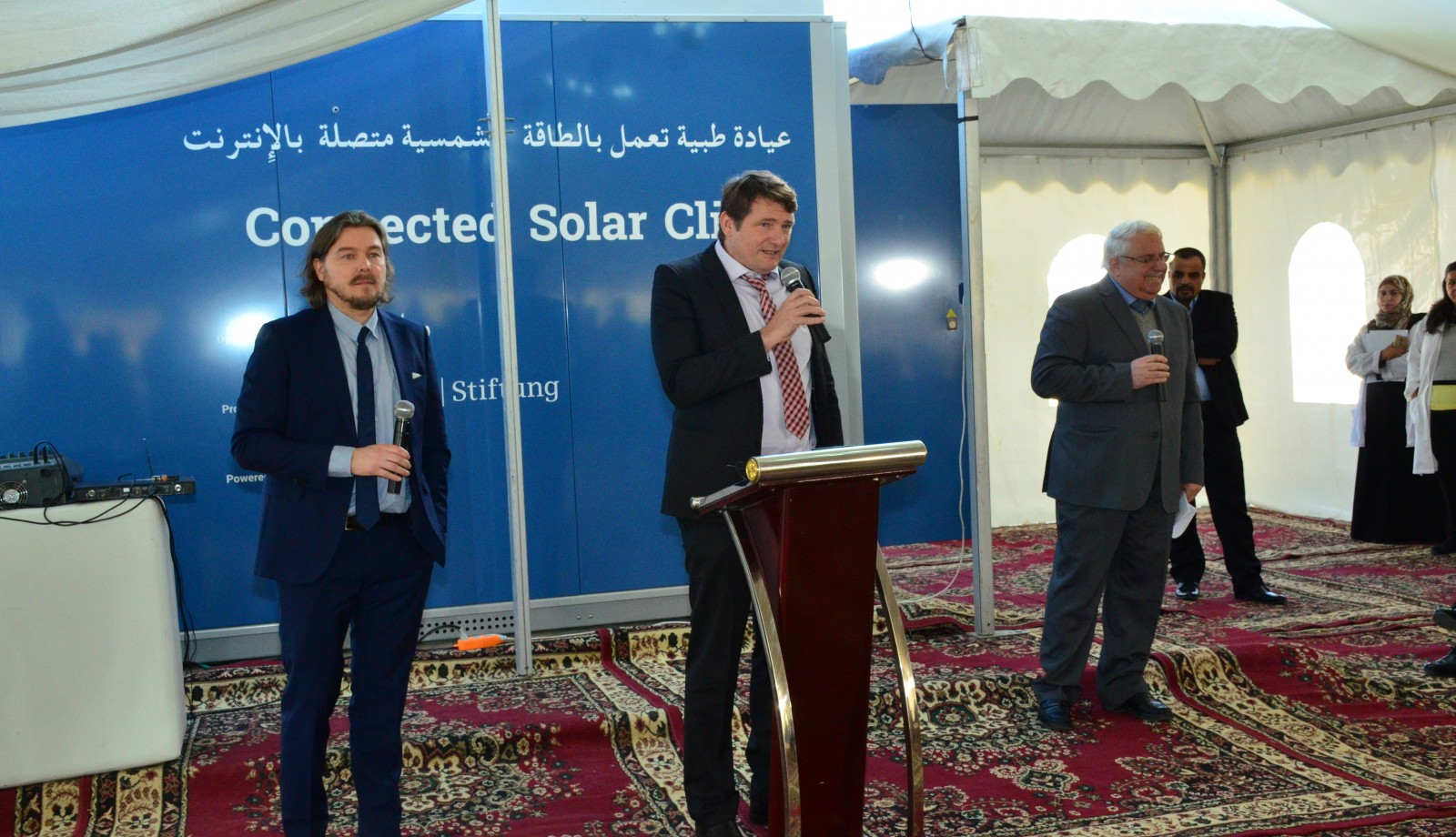 01_Connected Solar Clinic Inauguration