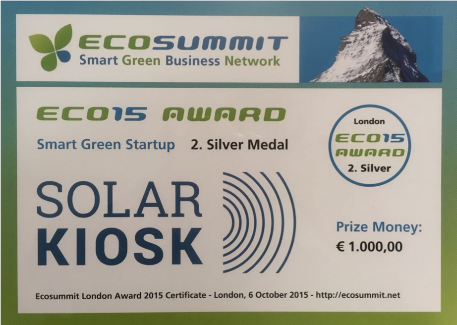 ecosummit award